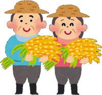 農家お米写真