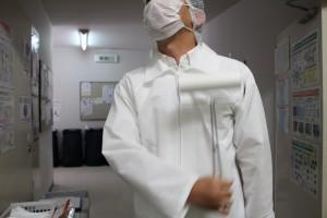 工場見学コロコロローラー