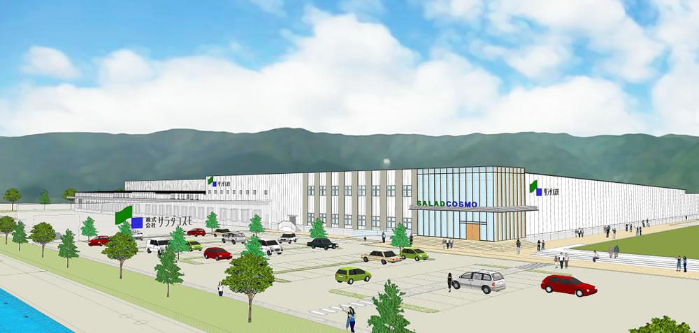 サラダコスモ養老生産センター(仮称)イメージ図