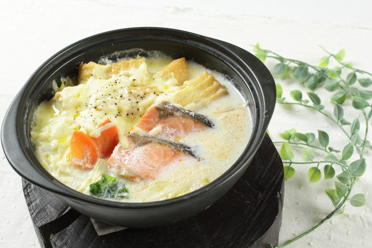 【管理栄養士監修】こどもに嬉しい栄養たっぷり!簡単ミルクチーズ鍋
